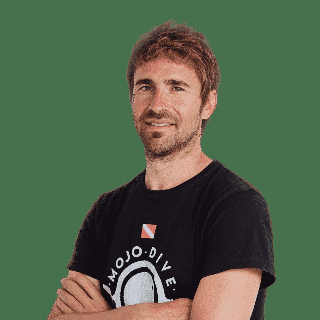 Nacho Director técnico Master Scuba Diver Trainer