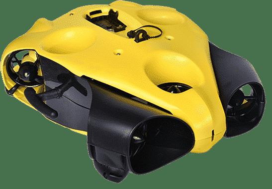 dron i-bubble amarillo y negro png transparente