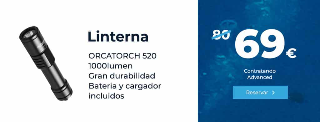 oferta linterna orcatorch 520 1000 lumen