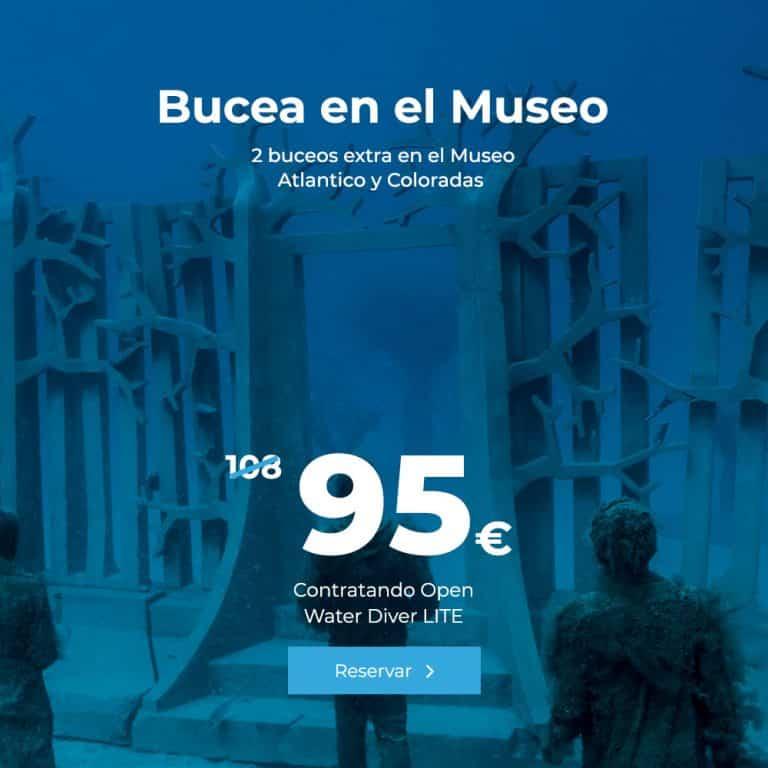 oferta bucea en el museo 2 buceos extra en el museo atlantico y coloradas