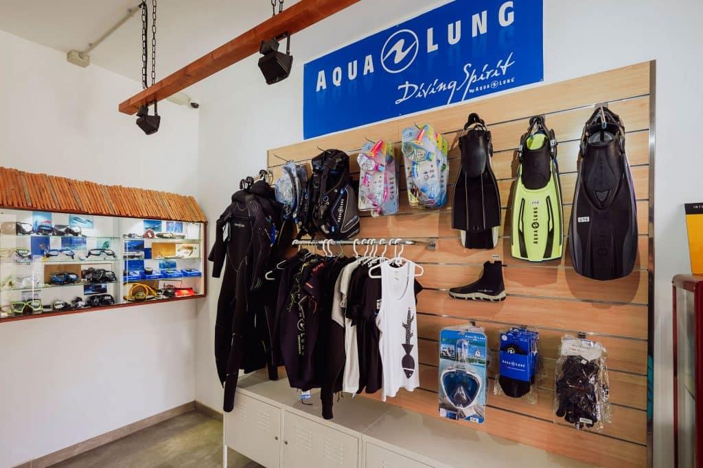 mojo dive lanzarote ocean divers tienda