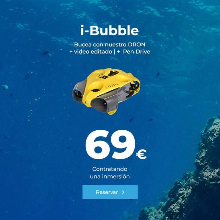 oferta ibubble dron amarillo lanzarote