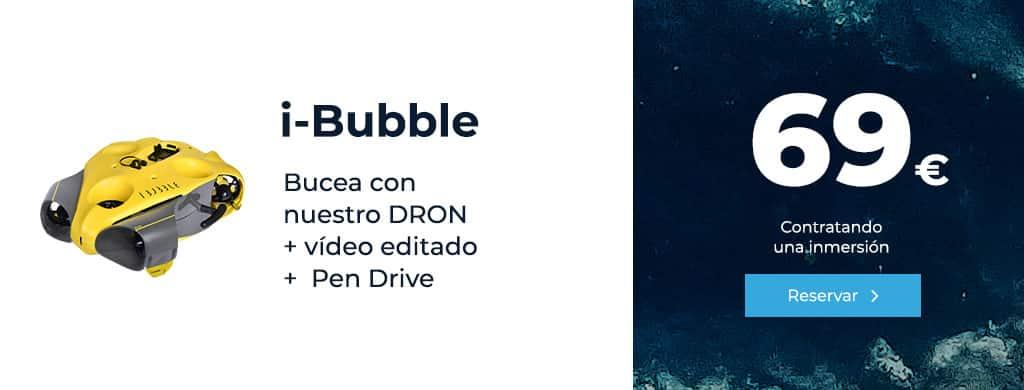 oferta ibubble bucea con nuestro dron