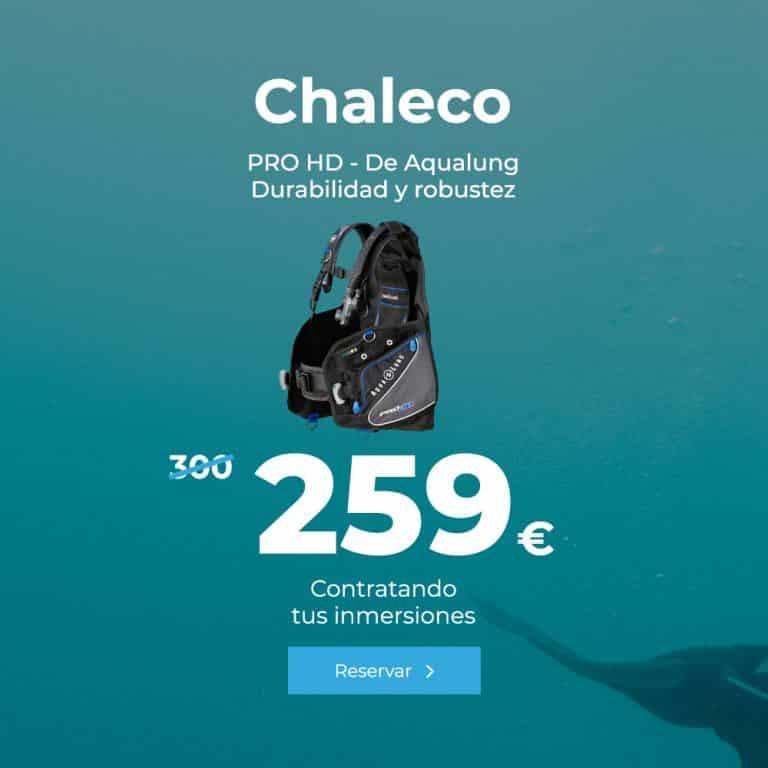 oferta chaleco pro hd de aqualung