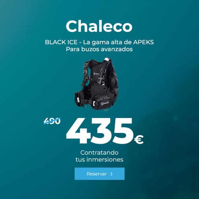 oferta chaleco black ice la gama alta de apeks