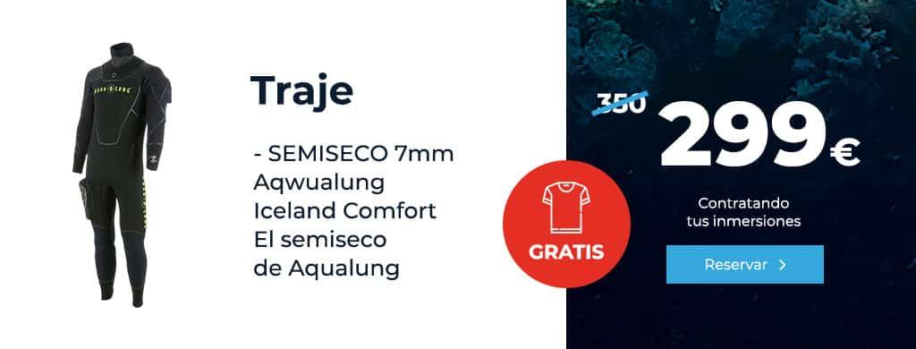 oferta traje semiseco 7mm aqualung
