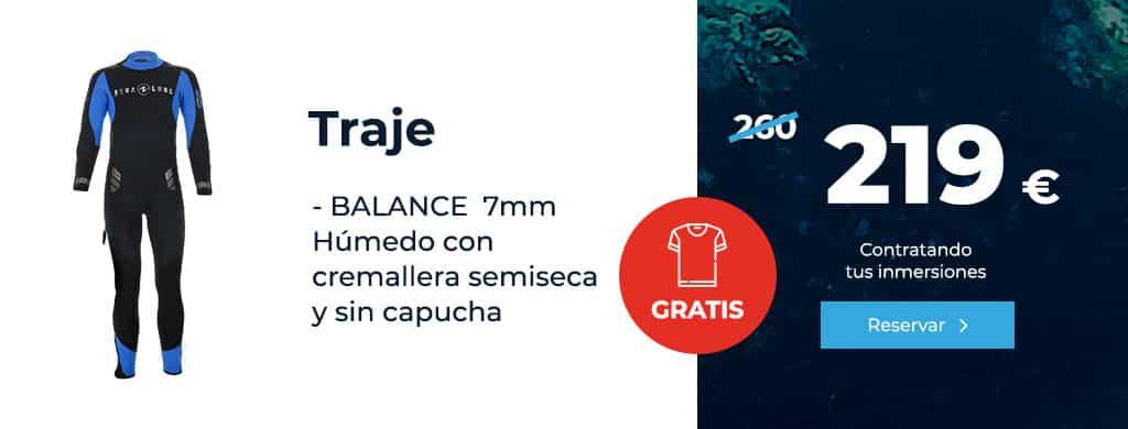 oferta traje balance 7 mm