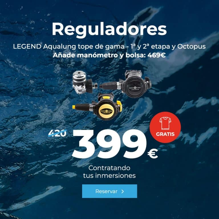 oferta reguladores legend aqualung tope de gama