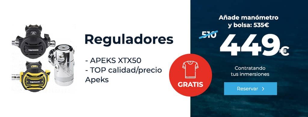 oferta reguladores apeks xtx50 lanzarote