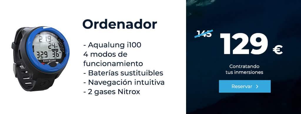 oferta ordenador aqualung i100 4 modos