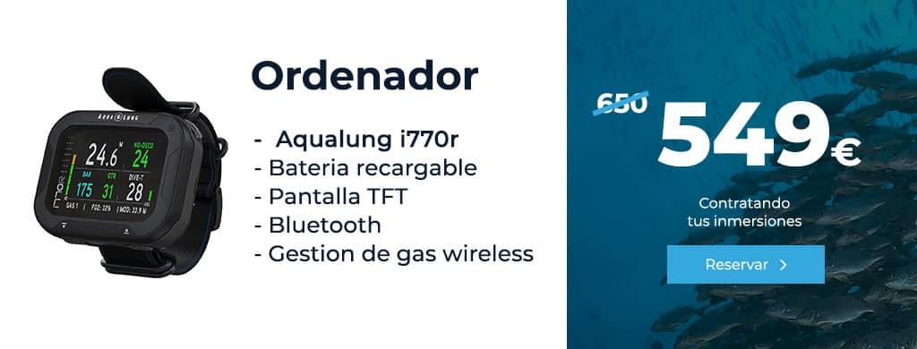 Oferta Aqualung i770r lanzarote